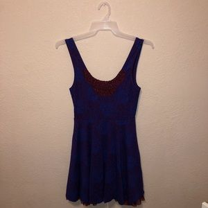 Free People Multilayered Mini Dress Size S